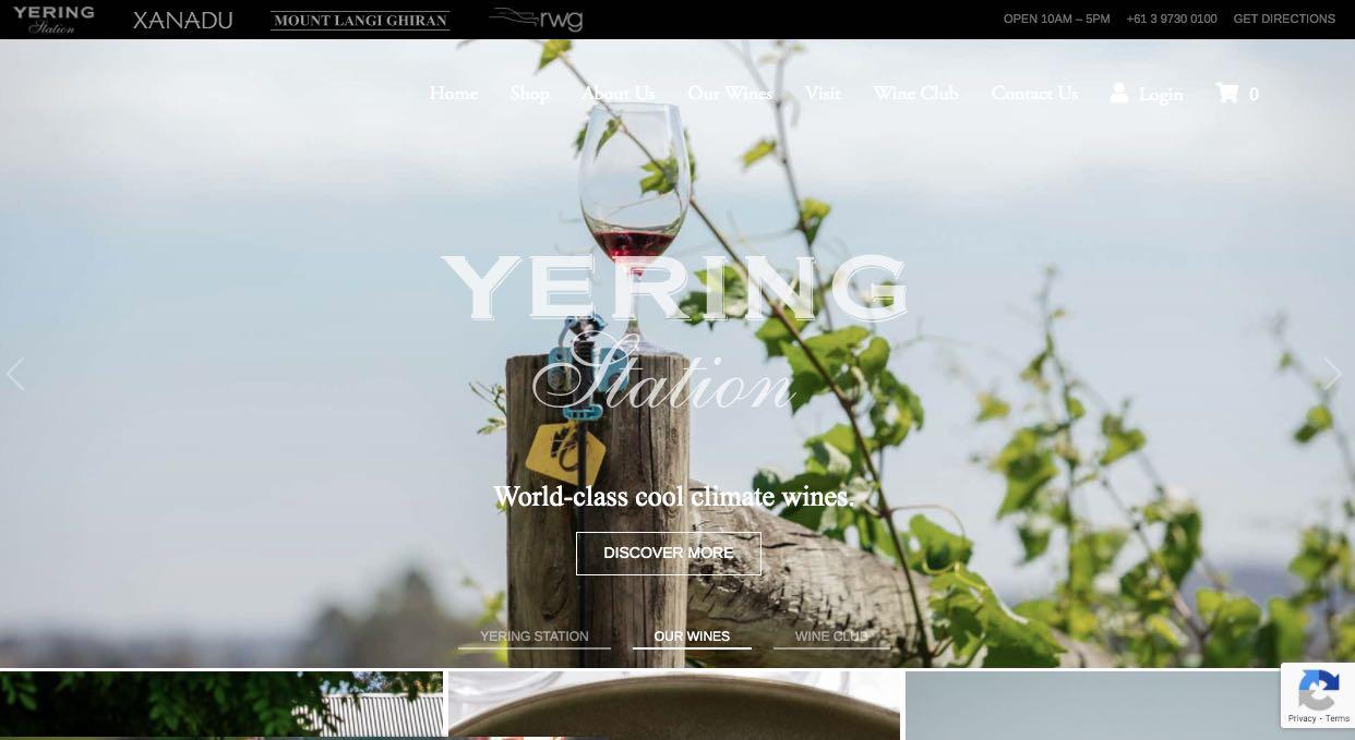 Yering Wedding Reception Venue Yarra Valley