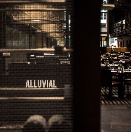 Alluvial Restaurant Christmas Lunch Idea Melbourne