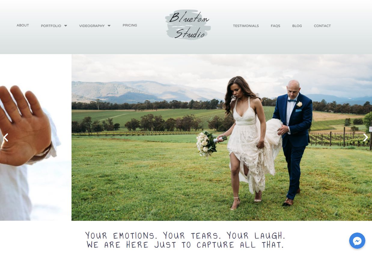 Blueton Studios Wedding Photographer Mornington Peninsula