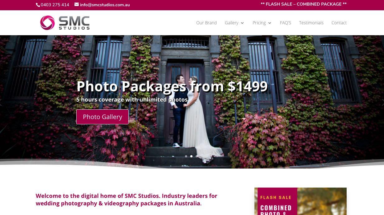 SMC Studios Wedding Videographer Yarra Valley