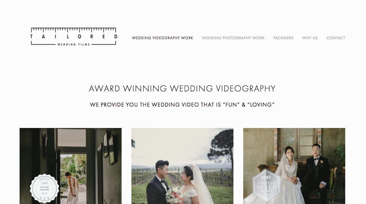 Tailored Wedding Films - Wedding Videographer Mornington Peninsula