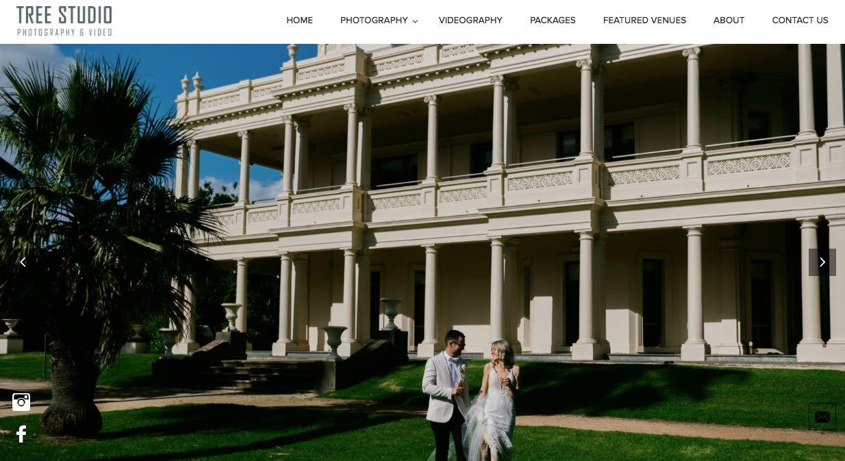 Tree Studio Wedding Videographer Mornington Peninsula