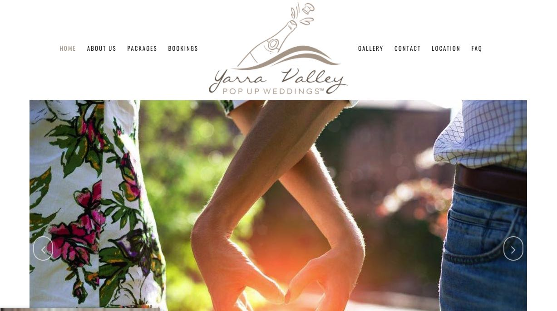 Yarra Valley Pop Up Weddings Videographer Yarra Valley