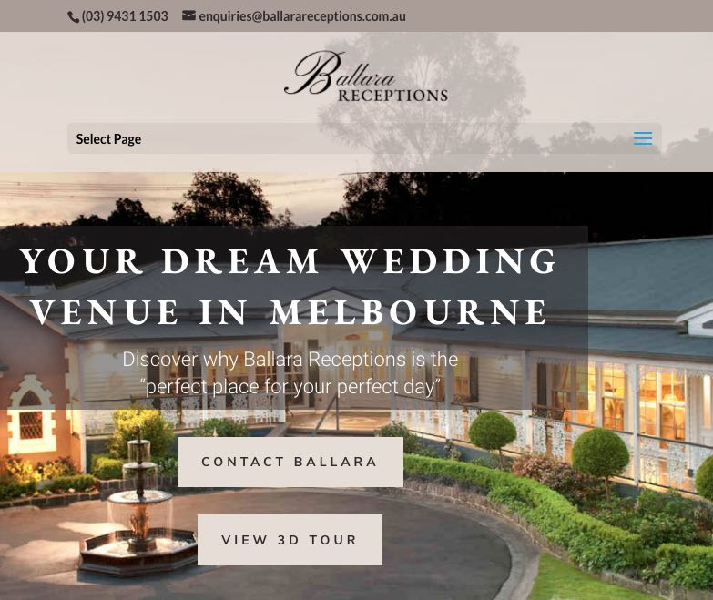 Ballara Receptions Accommodation and Hotel Burwood, Melbourne