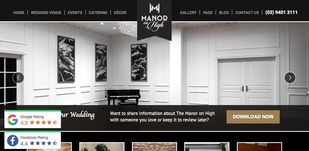 Manor on High Accommodation and Hotel Burwood, Melbourne
