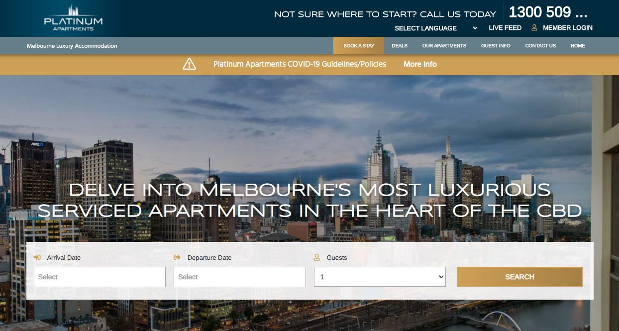 Platinum Apartments - Accommodation and Hotel Burwood, Melbourne