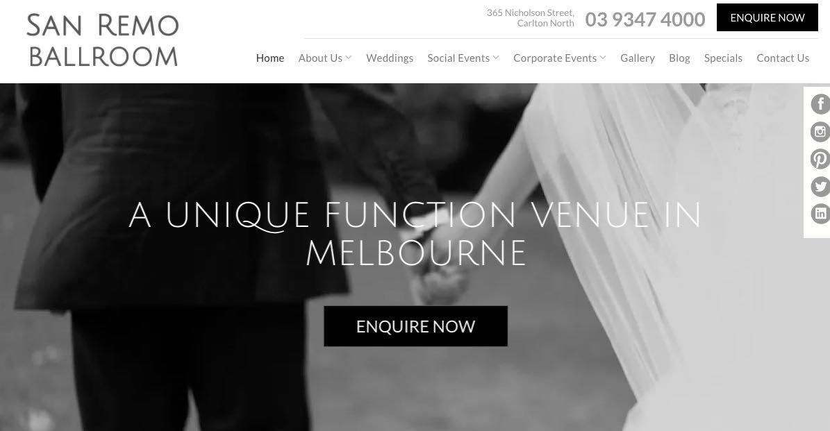 San Remo Ballroom - Accomoodation and Hotel Burwood, Melbourne