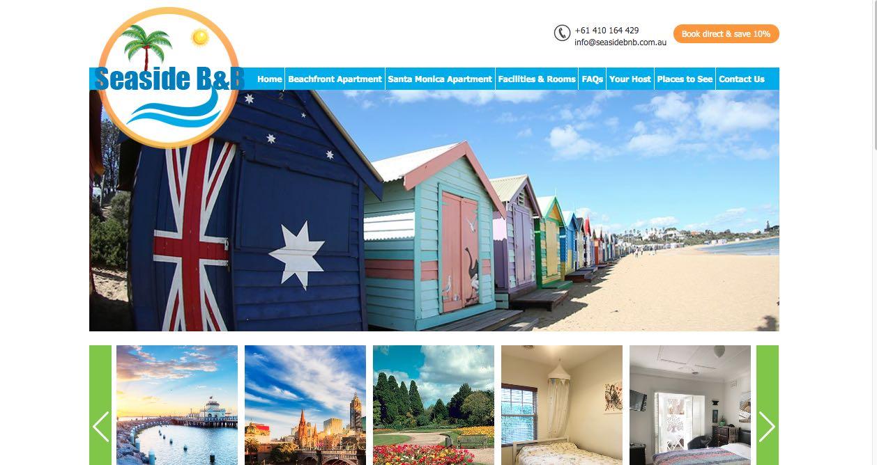 Seaside B and B Accommodation and Hotel Burwood, Melbourne