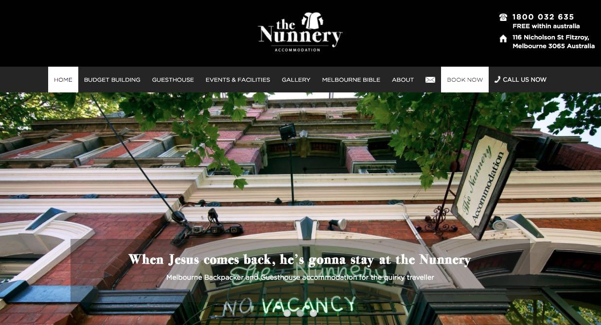 The Nunnery Beach and Waterside Wedding Accommodation Melbourne