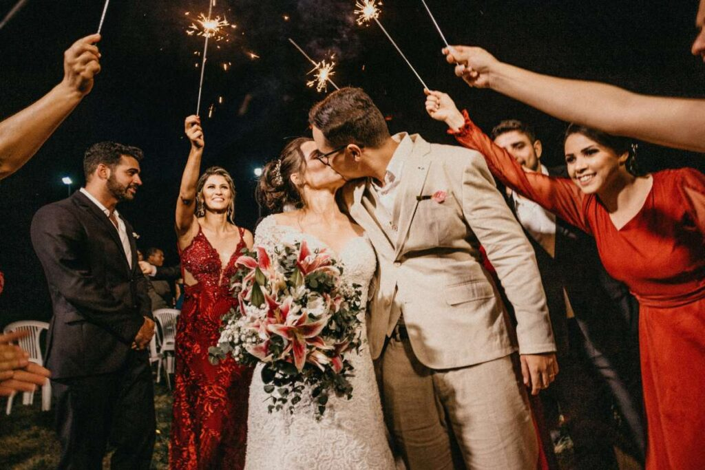 wedded couple photography