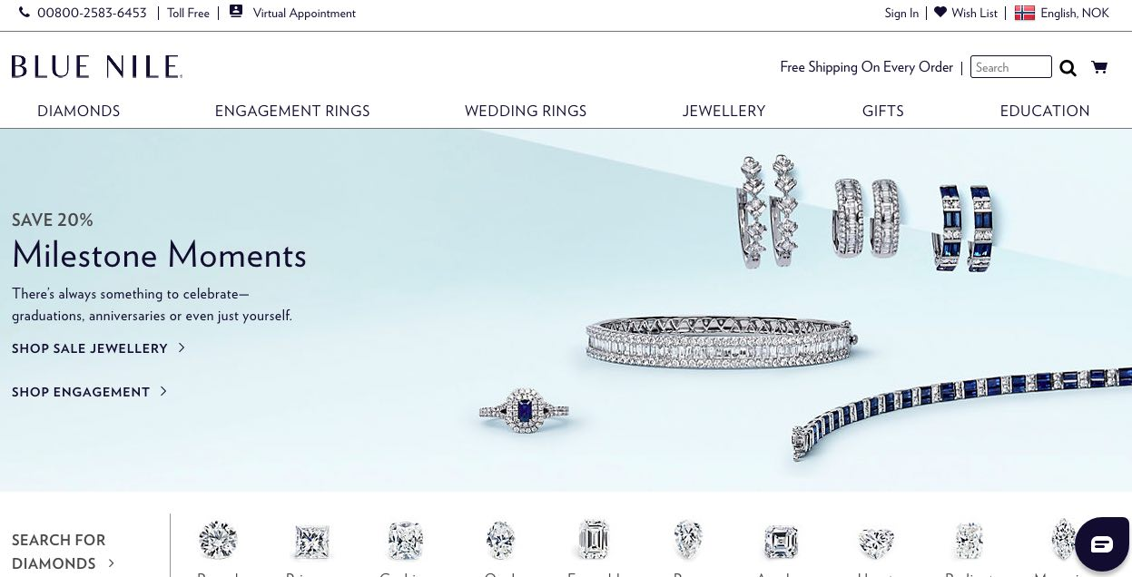 Blue Nile Diamond Jewellers – Engagement and Wedding Rings New Zealnd