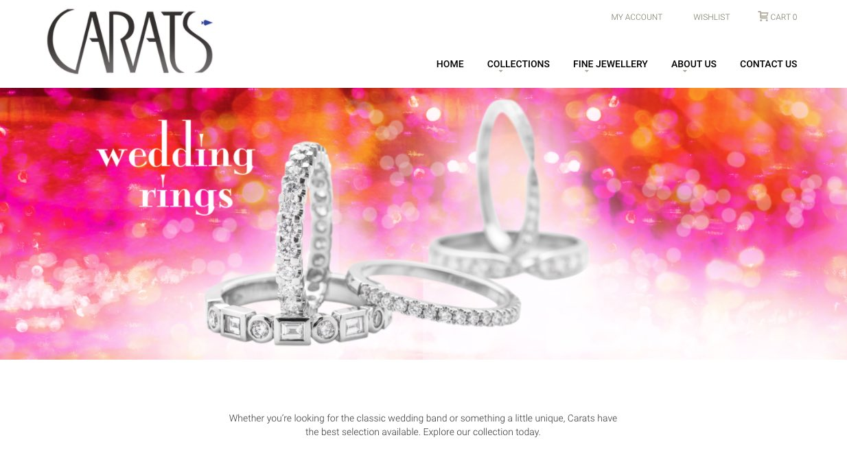 Carats Jewellery - Wedding and Engagement Rings New Zealand