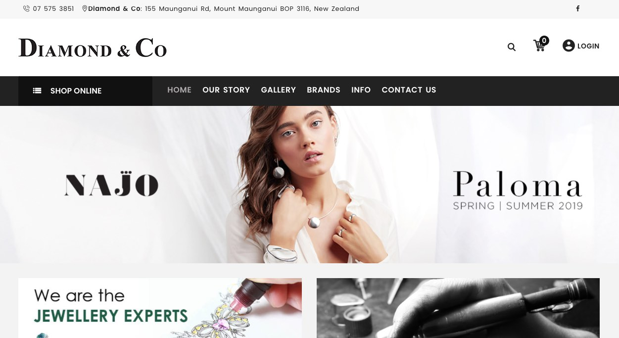 Diamond and Co. Wedding and Engagement Rings New Zealand