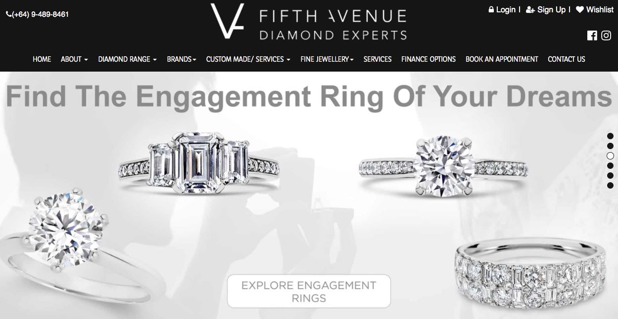 Fifth Avenue Diamond Experts - Wedding and Engagement Rings New Zealand