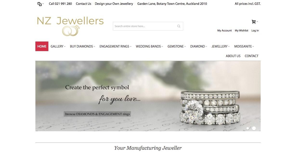 NZ Jewellers - Wedding and Engagement Rings New Zealand