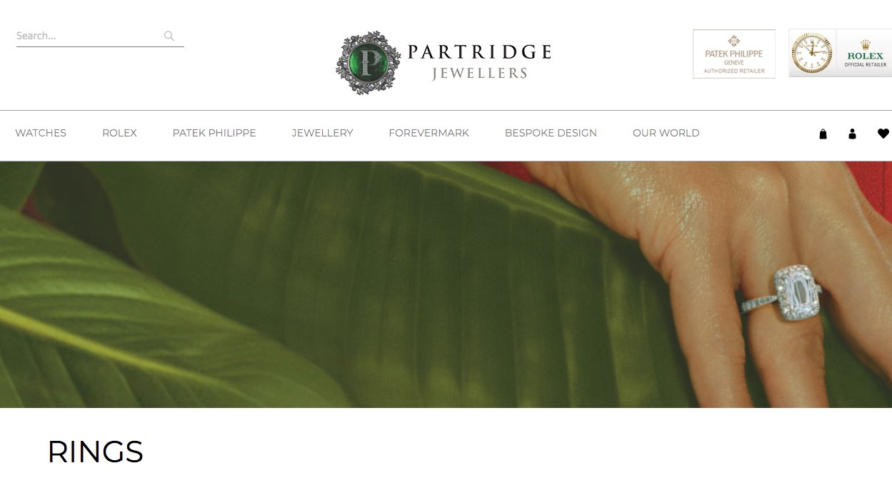 Partridge Jewellers - Wedding and Engagement Rings New Zealand