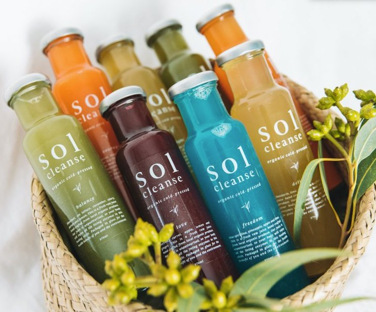 Sol Cleanse Detox Cleanse Drink