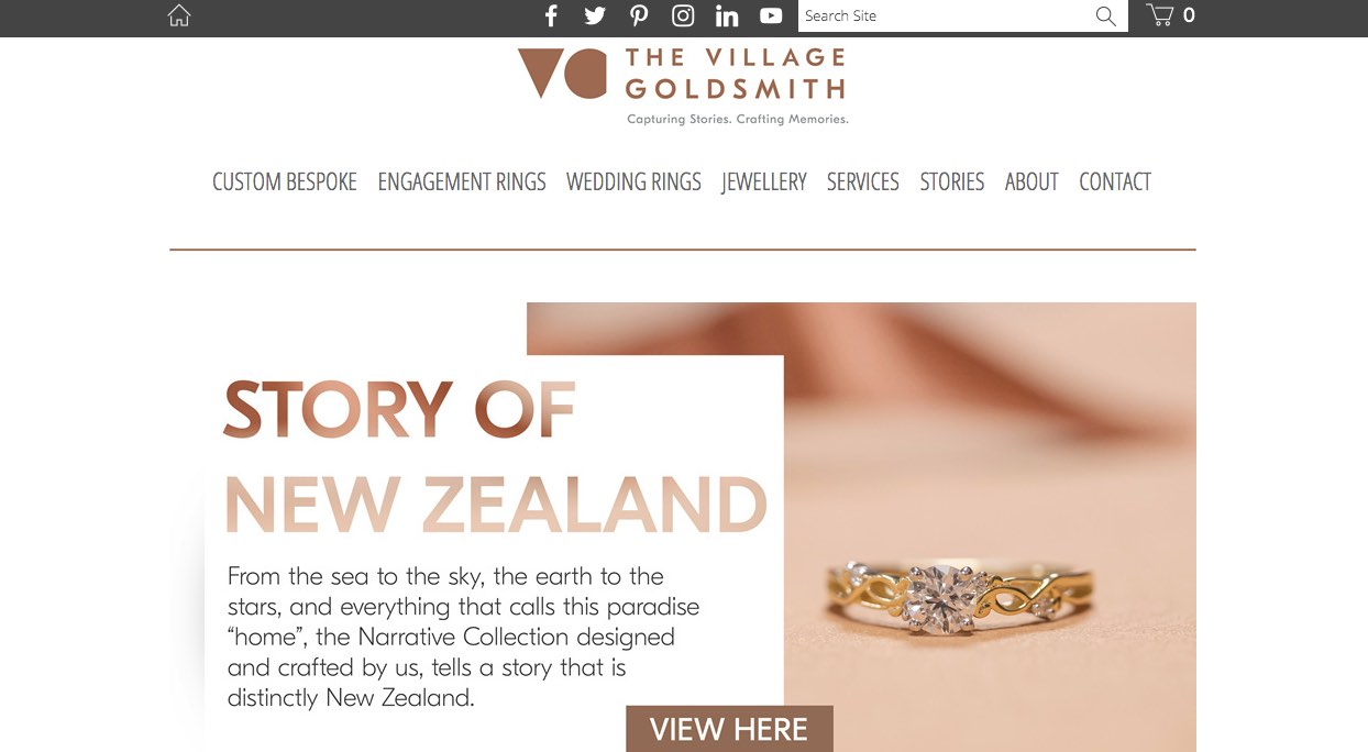 The Village Goldsmith Wedding and Engagement Rings New Zealand