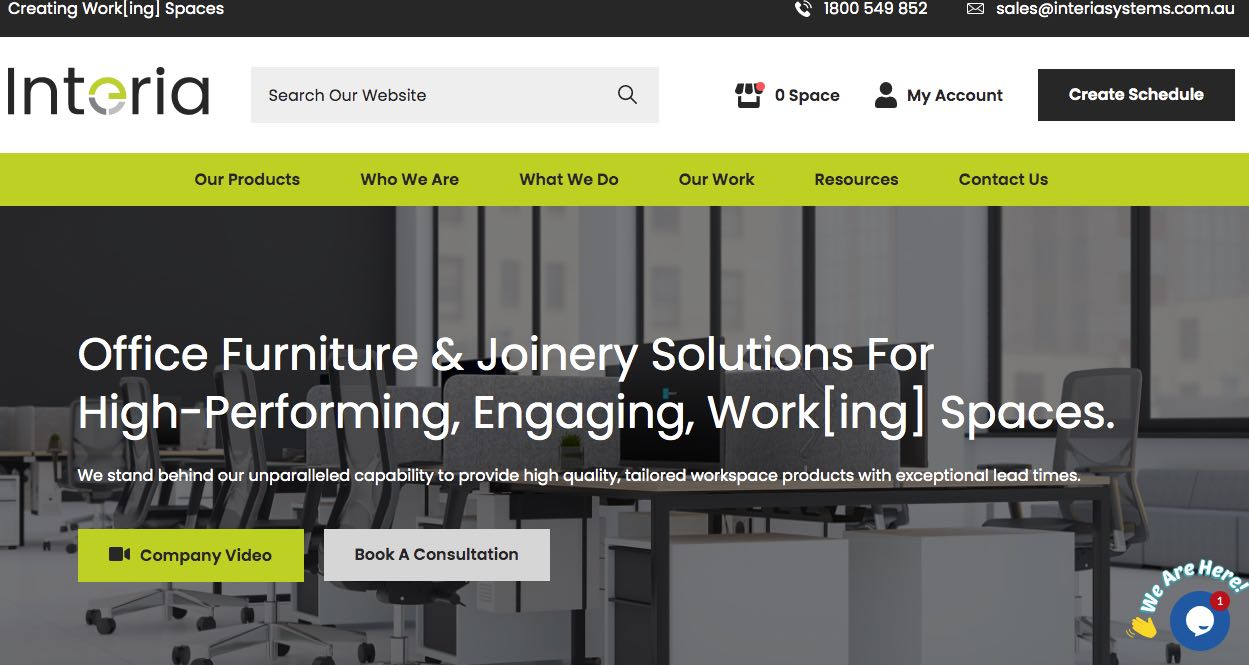 Interia Systems Fit Out Company Perth