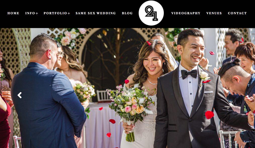 Twenty One Studio Wedding Photographers Melbourne