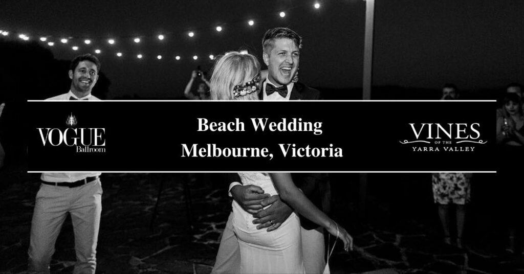 Beach Wedding Melbourne, Victoria- Boutique