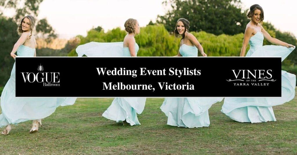 Wedding Event Stylists Melbourne, Victoria- Boutique