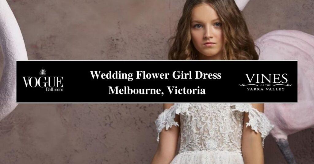 Wedding Flower Girl Dress Melbourne, Victoria- Boutique