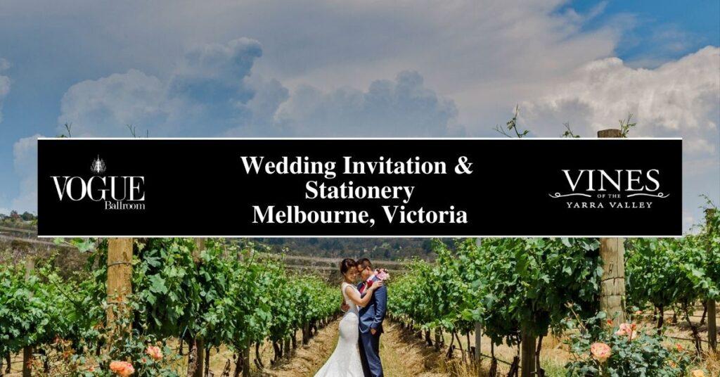 Wedding Invitation & Stationery Melbourne, Victoria- Boutique